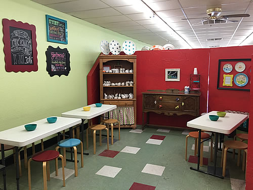 brush with art party room