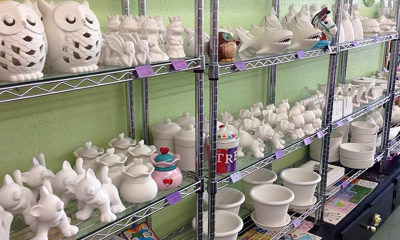 Choose from a wide variety of ceramic projects