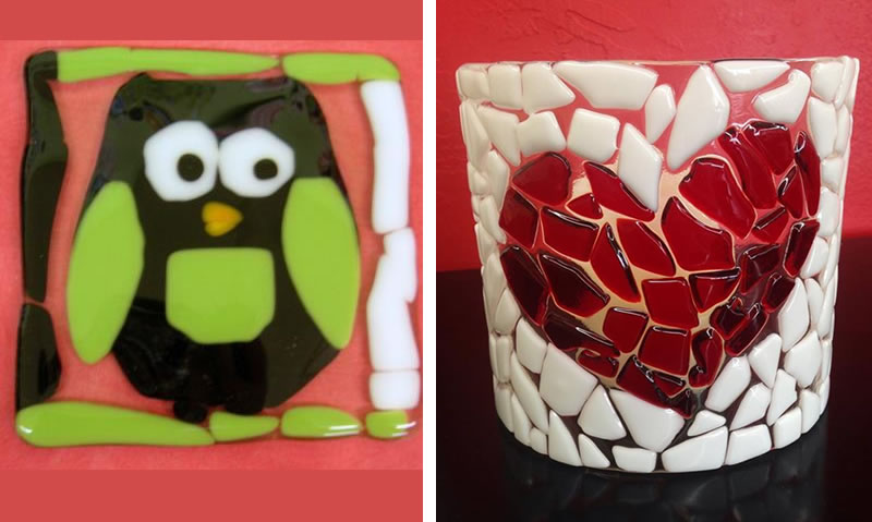 Fused glass projects